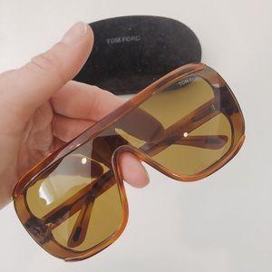 Tom Ford Porfirio-02 Oversized Sunglasses